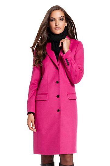 Pinker Mantel maßgeschneidert