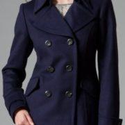 Maßgeschneiderte Jacke in Navy-Blau