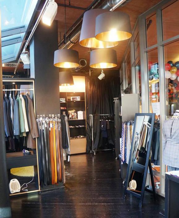 TailorMadeSuits Atelier in Köln von innen
