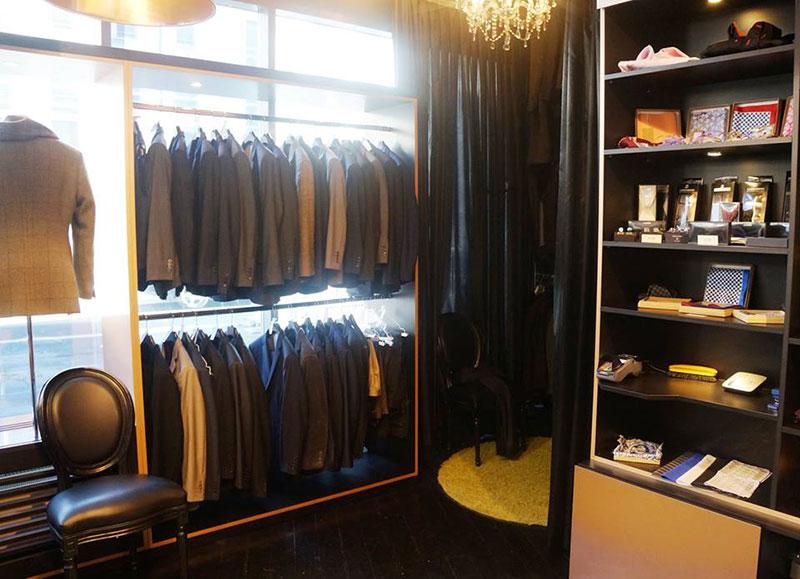 TailorMadeSuits Atelier in Köln innen